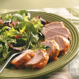 Apricot-Glazed Pork Tenderloin Recipe