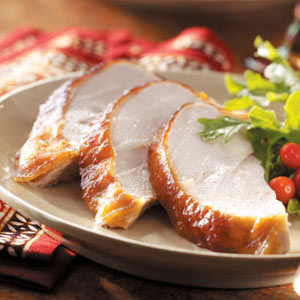 Apricot-Glazed Turkey Breast Recipe