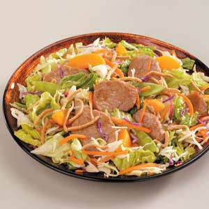 Asian Pork Tenderloin Salad Recipe
