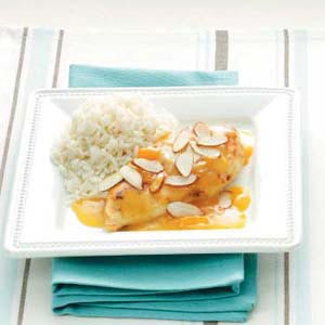 Quick Apricot Almond Chicken Recipe