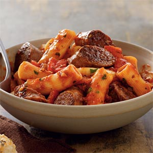 Johnsonville® Italian Sausage Rigatoni Recipe