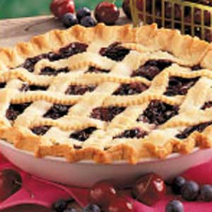 Cherry Blueberry Pie Recipe