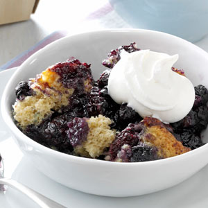 Black and Blue Cobbler Recipe