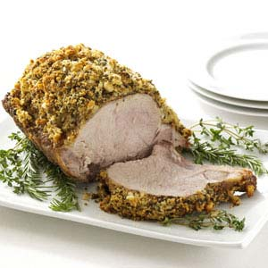 Herb-Crusted Pork Roast Recipe