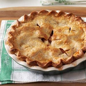 Mom's Maple-Apple Pie Recipe