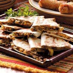 Corn 'n' Squash Quesadillas Recipe