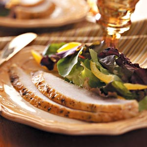 Tarragon-Lemon Turkey Breast Recipe