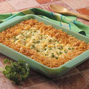 Makeover Au Gratin Hash Browns Recipe