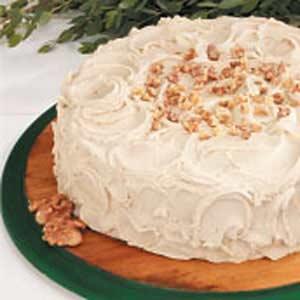 Maple Sugar Cake Recipe