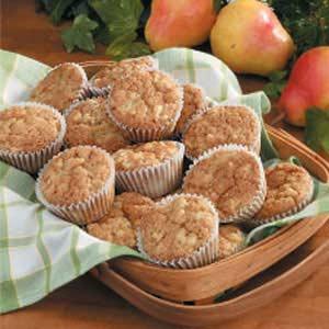 Pecan Pear Muffins Recipe