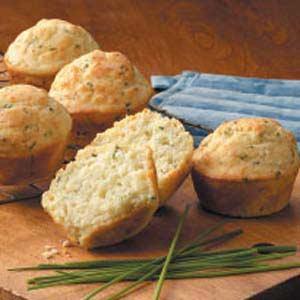 Feta 'n' Chive Muffins Recipe