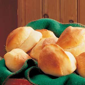 Cornmeal Parker House Rolls Recipe