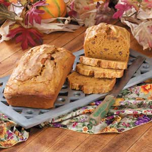 Makeover Holiday Pumpkin Bread Recipe