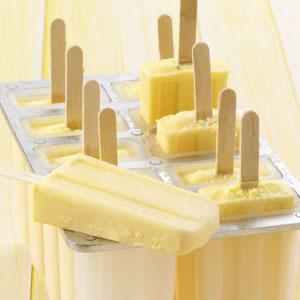 Creamy Cantaloupe Pops Recipe