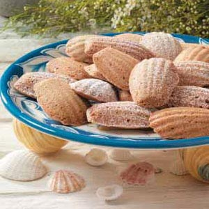 Hazelnut Madeleine Cookies Recipe