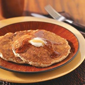 Quick Oatmeal Raisin Pancakes Recipe