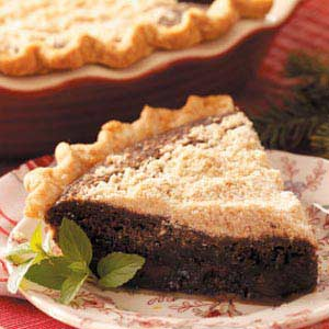 Chocolate Shoofly Pie Recipe