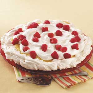 Raspberry Lemon Pavlova Recipe
