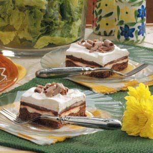 Whipped Chocolate Dessert Recipe