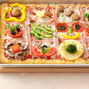 Family Quilt Pizza Recipe