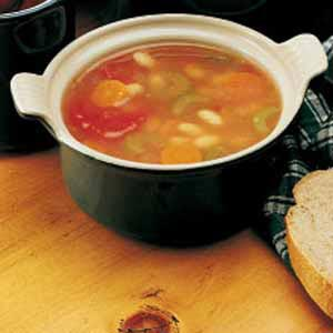 Peasant Bean Soup Recipe