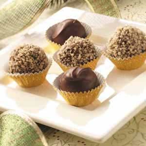 Chocolate Cinnamon Mud Balls Recipe