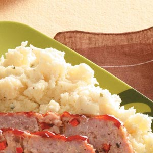 Baked Home-style Mashed Potatoes Recipe