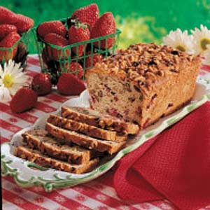 Strawberries 'n' Cream Bread Recipe