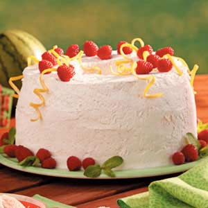 Raspberry Cream Torte Recipe