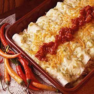 Beef or Chicken Enchiladas Recipe