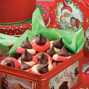 Peppermint Twist Kisses Recipe