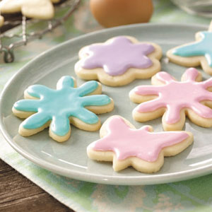 Pastel Tea Cookies Recipe