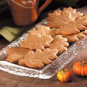 Ginger Leaf Cutouts Recipe