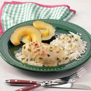 Spinach Crab Chicken Recipe