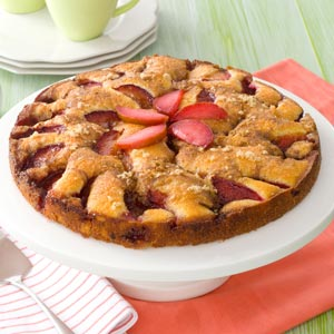 Fresh Plum Kuchen Recipe