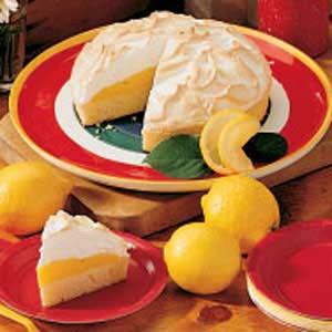 Rich Lemon Meringue Cake Recipe