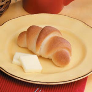 Golden Crescent Rolls Recipe