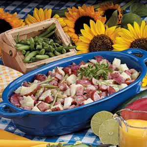Warm Sausage Potato Salad Recipe