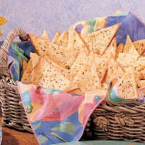 Cheddar Pepper Crisps Recipe