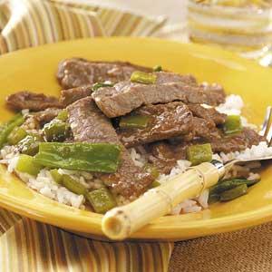 Teriyaki Beef Stir-Fry Recipe