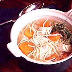Dilled Chicken Soup Recipe