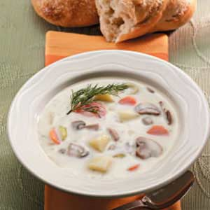 Mushroom Potato Soup Recipe