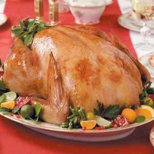 Citrus-Scented Brined Turkey Recipe