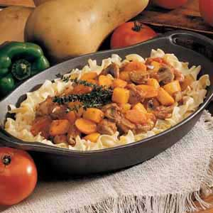 Pork and Winter Squash Stew Recipe