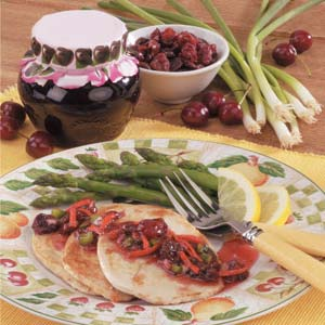Tangy Cherry Relish Recipe