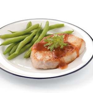 Saucy Pork Chop Recipe