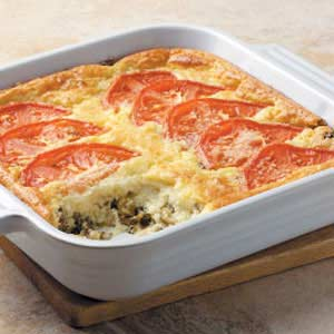 Veggie Cheese Casserole Recipe