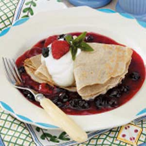 Buckwheat Brunch Crepes Recipe