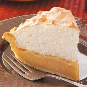 Maple Cream Meringue Pie Recipe