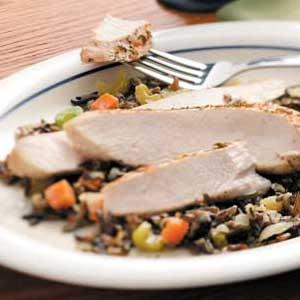 Turkey Wild Rice Casserole Recipe